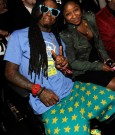 LIL WAYNE AND daughter REGINAE 2012 grammys