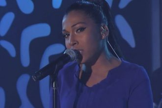 "Melanie Fiona Performs 4 AM On ""Jimmy Kimmel Live"" [Video]"