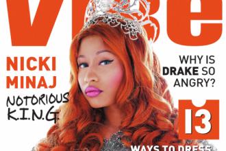 Nicki Minaj Covers Vibe Magazine, Talks Critics