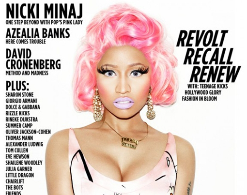 Nicki Minaj Covers Wonderland Mag, Talks Barbie Obsession [Photo]