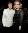 PAUL MCCARTNEY AND ADELE 2012 grammy