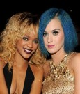 RIHANNA AND KATY PERRY 2012 grammys
