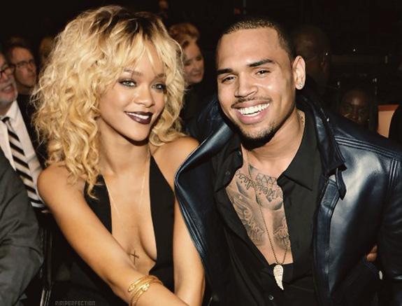 Rihanna And Chris Brown 2012 photo