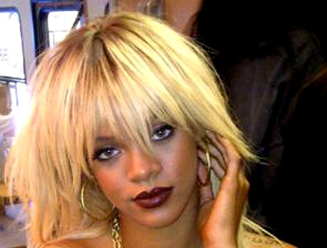 Rihanna Blonde 2012