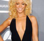 Rihanna at the grammys 2012