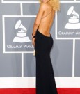Rihanna dress grammy