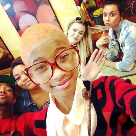 Willow Smith Pulls Off An Amber Rose [Photo]
