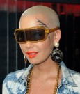 amber rose face tatt
