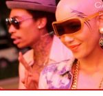 amber rose face tattoo 2012