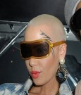 amber rose tattoo on face