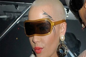 Amber Rose Gets A New Face Tattoo [Photo]