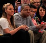 beyonce and jay-z courtside nets knicks game