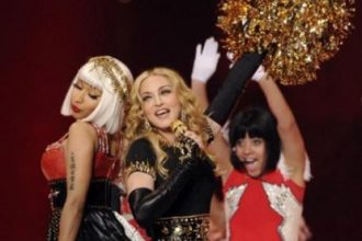 Madonna, Nicki Minaj, M.I.A., Cee Lo Green Performs Super Bowel Halftime [Video]