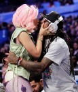 nicki minaj and lil wayne kiss 2012