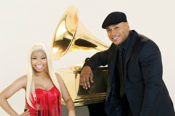 Nicki Minaj Appears In Grammy Promo With LL Cool J [Video]