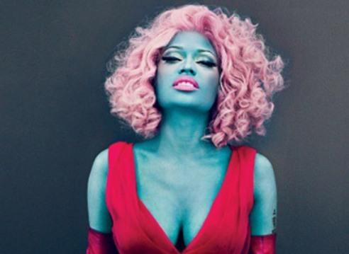 Nicki Minaj Glammed Out In Vogue Magazine