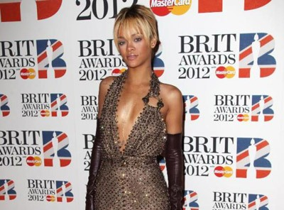 Rihanna Sizzles At BRIT Awards [Photo]