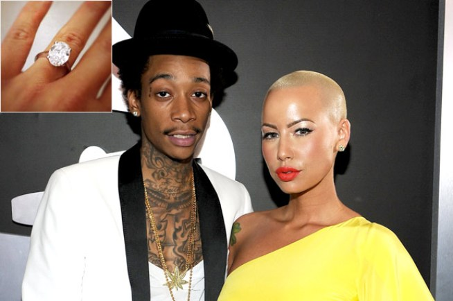 Wiz Khalifa Proposed To Amber Rose, It's Official [DETAILS]