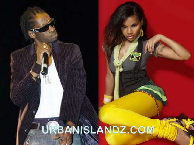 Bounty Killer and Cecile