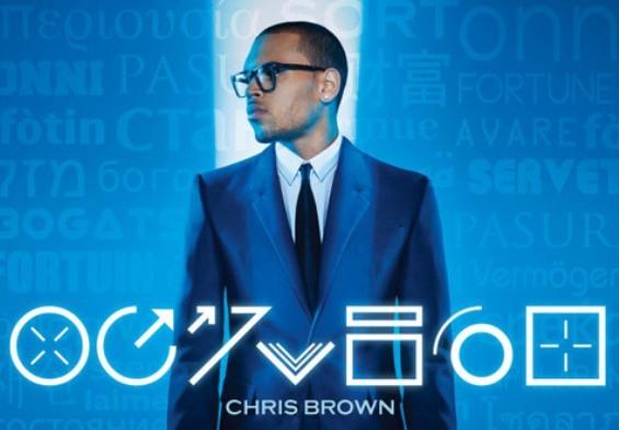 Chris Brown Fortune album cover artwork