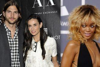 "Rihanna Dating Ashton Kutcher Left Demi Moore ""sick to her stomach"""