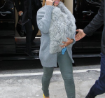 beyonce blue ivy in fur