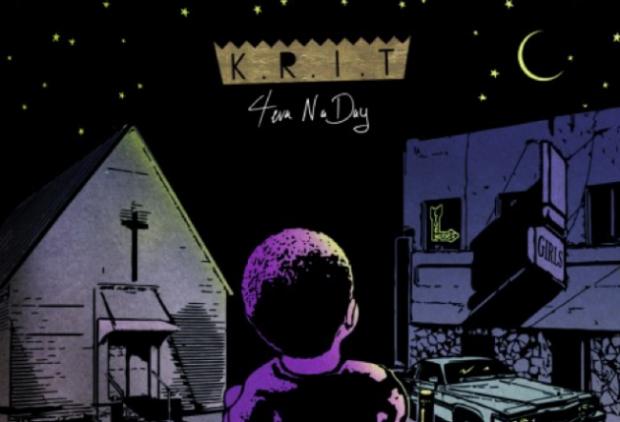 big KRIT 4eva n a day mixtape cover