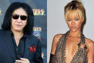"Rockstar Gene Simmons Diss Rihanna, Compares Her To ""Karaoke"""