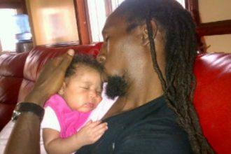 Jah Cure Finally Hold His Daughter Kailani [Photo]