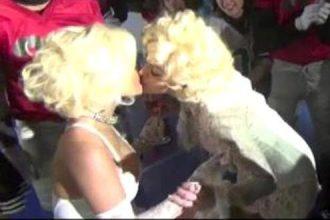 Madonna Gave Nicki Minaj A Birthday Kiss [Video]