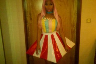 Nicki Minaj Heats Up Japan In Popcorn Dress [Photo]