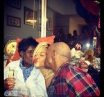 rihanna and her grand parents 1