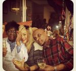 rihanna and her grand parents