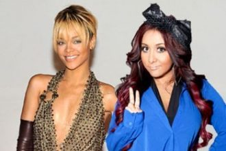 "Rihanna Congratulates Snooki On Pregnancy, ""That's Dope"""