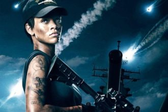 "First Rihanna ""Battleship"" Poster Revealed, Kitsch Praises Her Acting [Photo]"