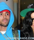 Chris Brown and Rihanna in Australia 2012