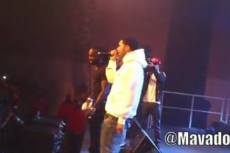 Drake Joins Mavado On Stage While Performing In Paris [Video]