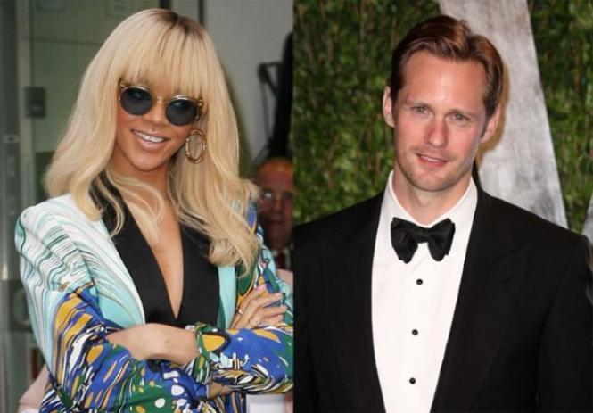 Rihanna and Alexander Skarsgard
