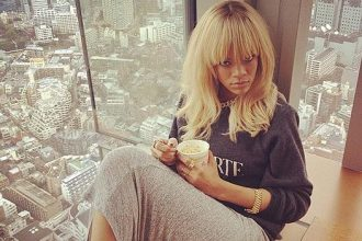 Rihanna Is High In Japan [Photo]