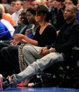 beyonce and jay-z knicks game