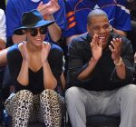 beyonce and jay-z knicks game 13