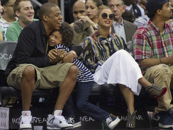 jay-z beyonce and julez