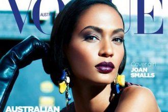 Joan Smalls Gets Glam For Vogue Australia [Photos]