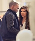 kanye west and kim kardashian 2012