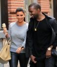 kanye west and kim kardashian couple