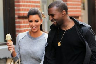 Kanye West And Kim Kardashian All Smiles In NYC [Photo]