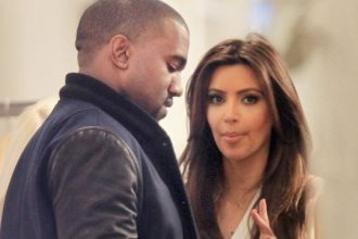 Kim Kardashian And Kanye West Steps Out In New York [Photo]