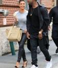 kanye west and kim kardashian dating
