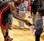 lebron james and julez 2012