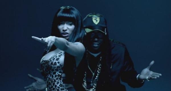 nicki minaj 2 chainz beez trap music video